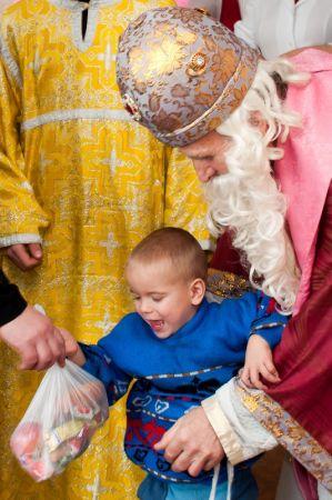 Святий Миколай в Ніжинському притулку для дітей сиріт (ФОТО)