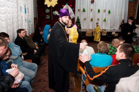 Святий Миколай в Ніжинському будинку інтернаті для дітей інвалідів (ФОТО)